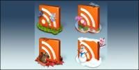 Frees Icon RSS Crystal png icon