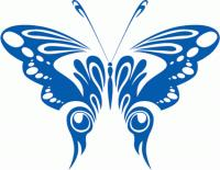 Fashion Butterfly Vector material