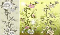 Flowers, butterflies, chicks, hens, bees, grasshoppers