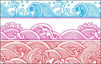 Spray pattern vector material