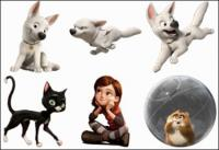cartoon animals ,dog ,cat ico
