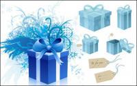 tag snowflake gift box