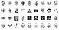 Skull, T-shirt designs, skeleton (54¸ö)