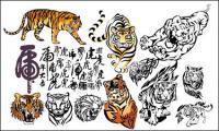Tiger, Tiger 2010 vector