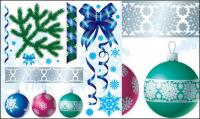 Christmas decoration Vector material