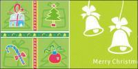 Cute Christmas decoration element vector