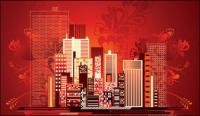 Modern City Vector material