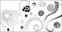 Line element vector material