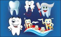 Vector Illustration dental care