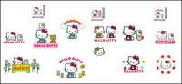hello kitty official vector 1-4
