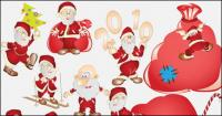 Lovely Santa Claus vector