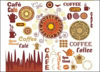Coffee Art Vector material