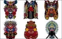Peking Opera vector material
