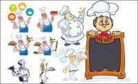 Chef Series Vector material