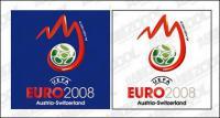 2008 European Cup logo vector material