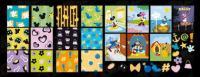 Disney lovely tile vector background material