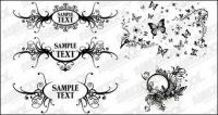 black-and-white pattern vector