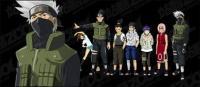 Naruto characters vector material