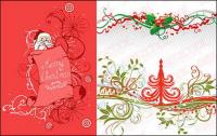Christmas pattern vector material
