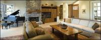 Village style living room picture material