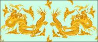 Classical Chinese dragon logo