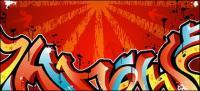 Street graffiti logo