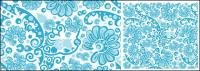 Vector blue background material pattern