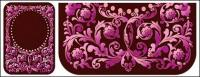 Continental purple pattern