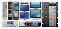 Vector series multimedia phones electrical material