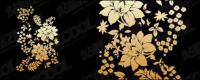 Practical flower pattern vector material