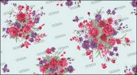 Korean fashion gorgeous patterns series -12 Rose and Butterfly