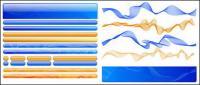 Web Design material - buttons, navigation, Diwen