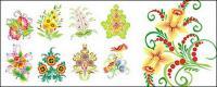 Exquisite floral fashion