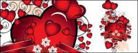 Heart-shaped vector material-4