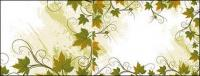 Rattan plant lace border