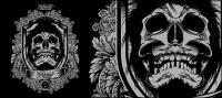 Skull vector material