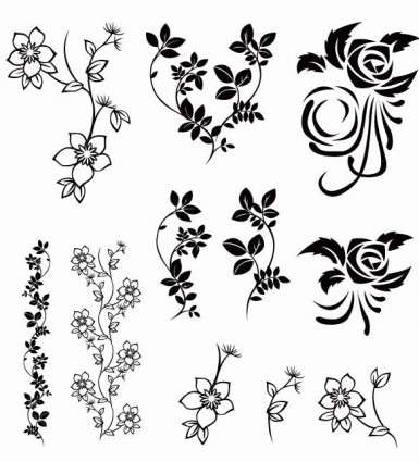 vector floral pack