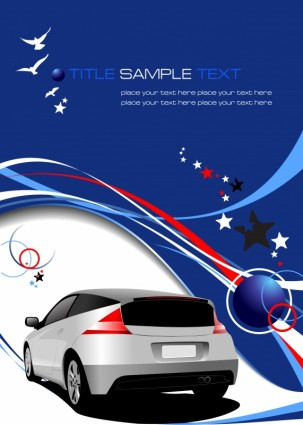 automotive background vector