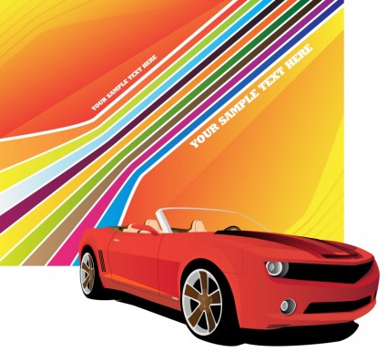 automotive posters vector