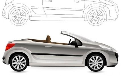 convertible cabriolet car
