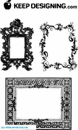 fancy frames and ornate borders