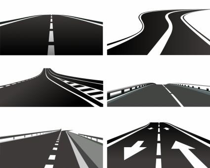 vector realistic highway