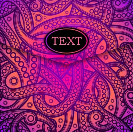 dazzling pattern background vector
