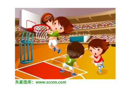 basketball sports vector