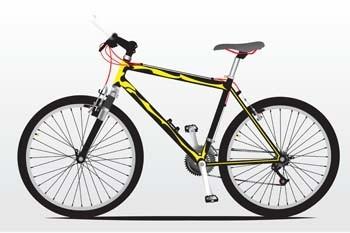 bike sport vector