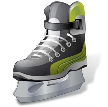 hockey ice skate vector ai ice sakte vector illustrator ai hockey vector sport ai illustrator design