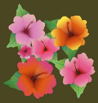 เวกเตอร์ดอกไม้สวยงาม