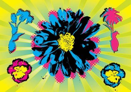 fleurs de Warhol