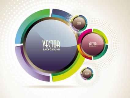 Абстрактный вектор фон объекта vector