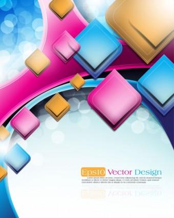 vector de objeto de fondo de vector abstracto
